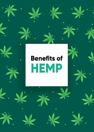 this image shows the hemp benefits and properties