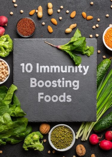 10 immunity boosting foods cover image